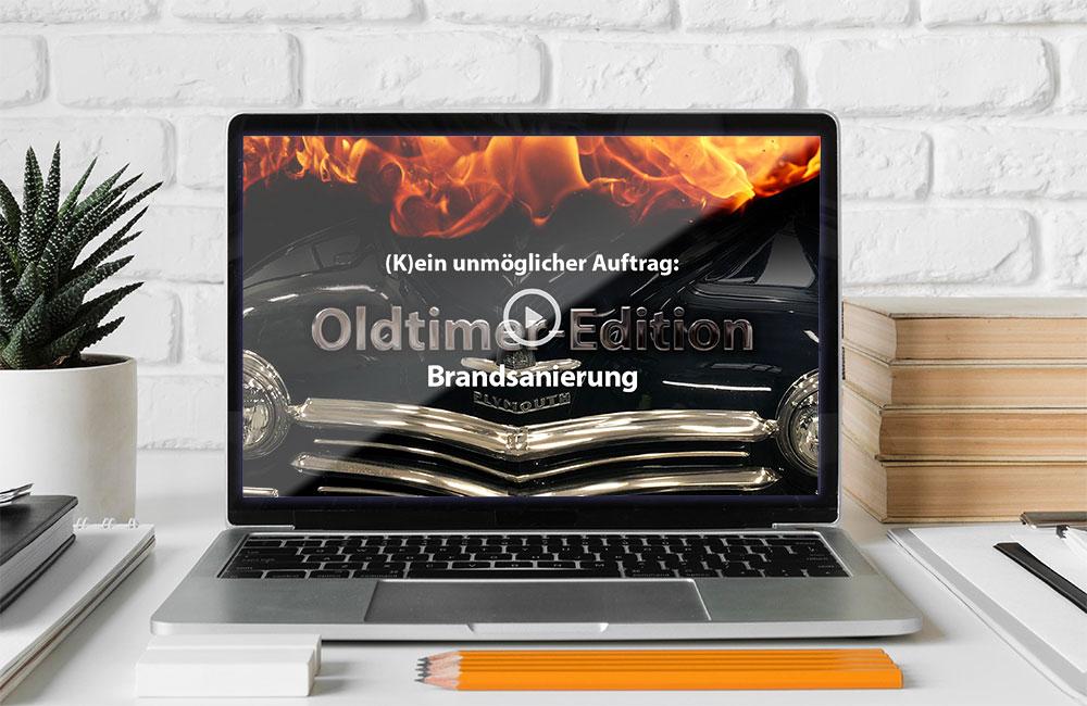 »Oldtimer-Edition - Brandsanierung« als Online-Version