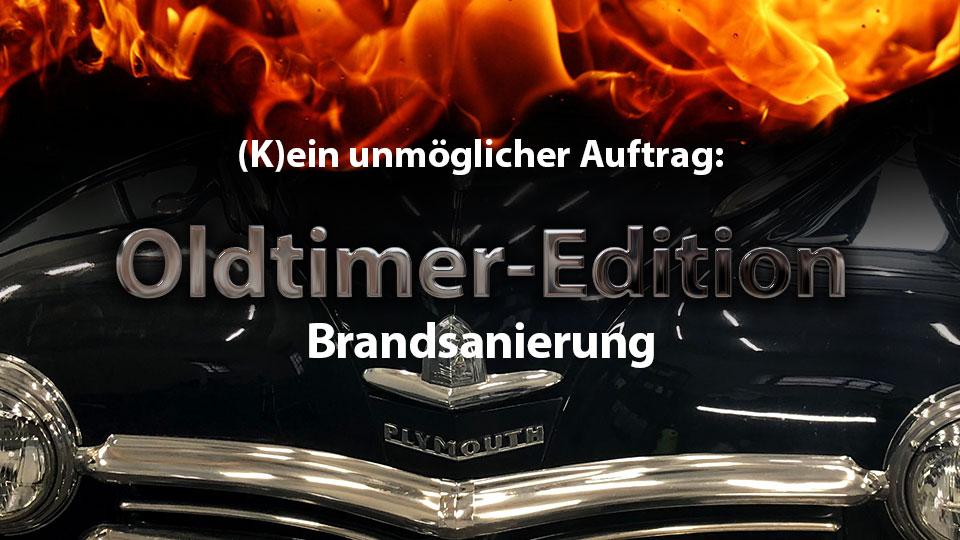 Oldtimer-Edition der Brandsanierung als Online-Version